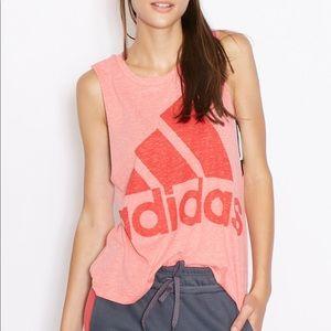 Adidas | Graphic Boyfriend Tank
